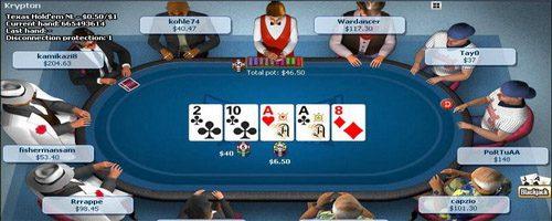 pocker table en ligne